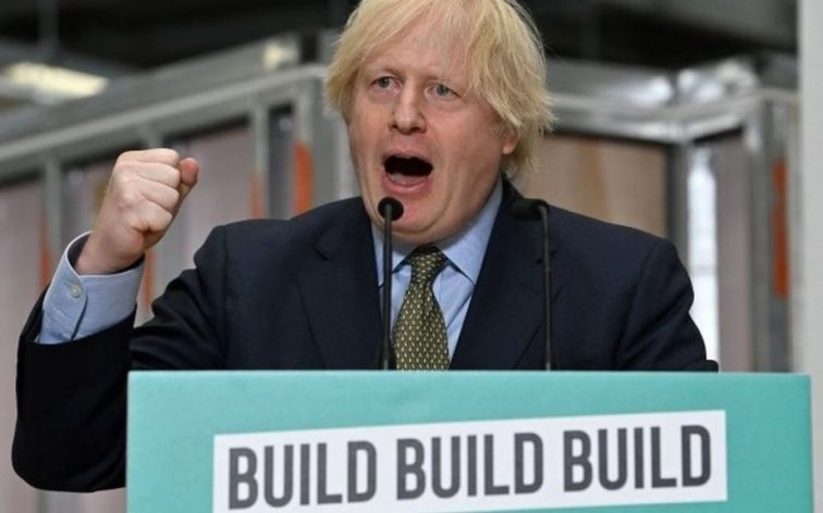 Boris Johnson Build Build Build